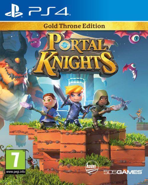 Portal Knights - edycja Gold Throne Edition (PS4) PL