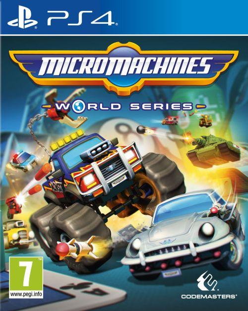 Micro Machines: World Series (PS4) + BONUSY!