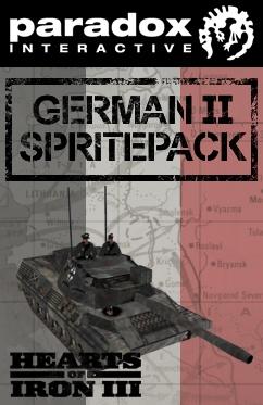 Hearts of Iron III DLC: German II Spritepack (PC) DIGITÁLIS