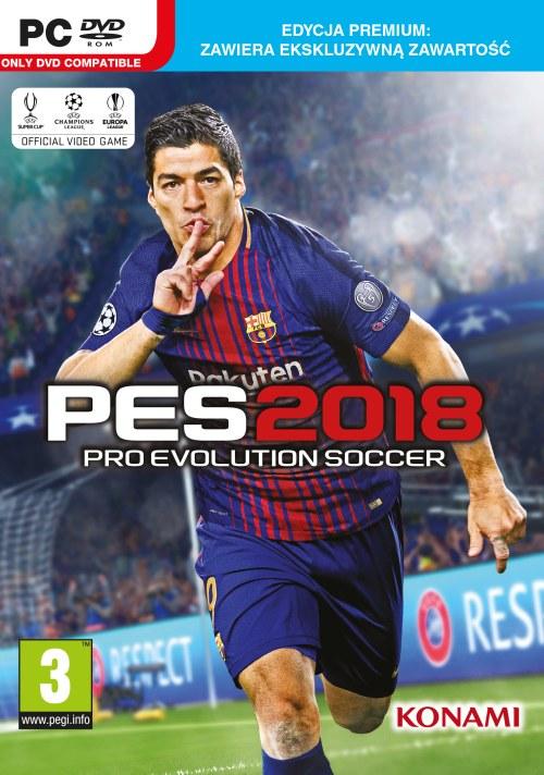 Pro Evolution Soccer 2018 Edycja Premium (PC)