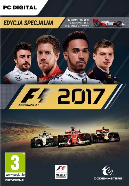 F1 2017 Edycja Specjalna (PC) PL