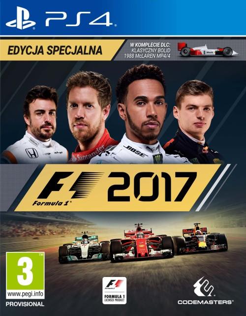 F1 2017 Edycja Specjalna (PS4) PL + STEELBOOK!