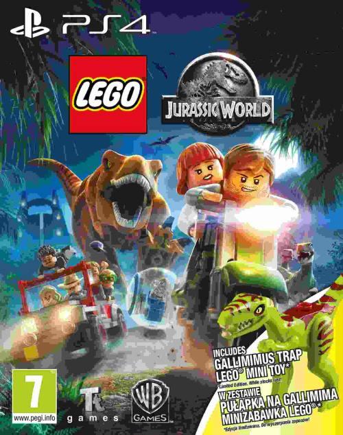 LEGO Jurassic World + Minifigurka LEGO (PS4)