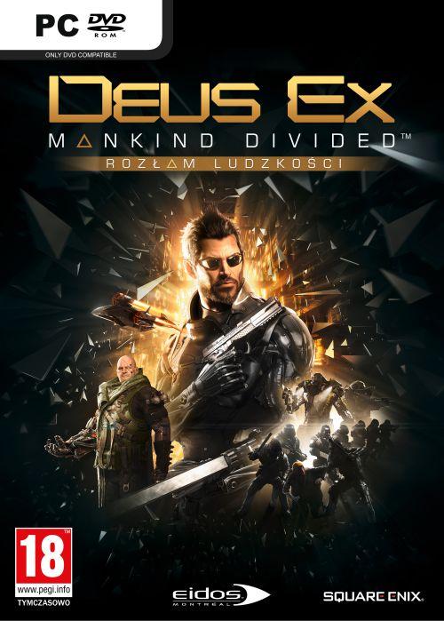 Deus Ex: Rozłam Ludzkości Edycja Steelbook (PC) PL