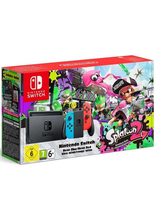 Konsola Nintendo Switch Red&Blue + Splatoon 2 (Switch)