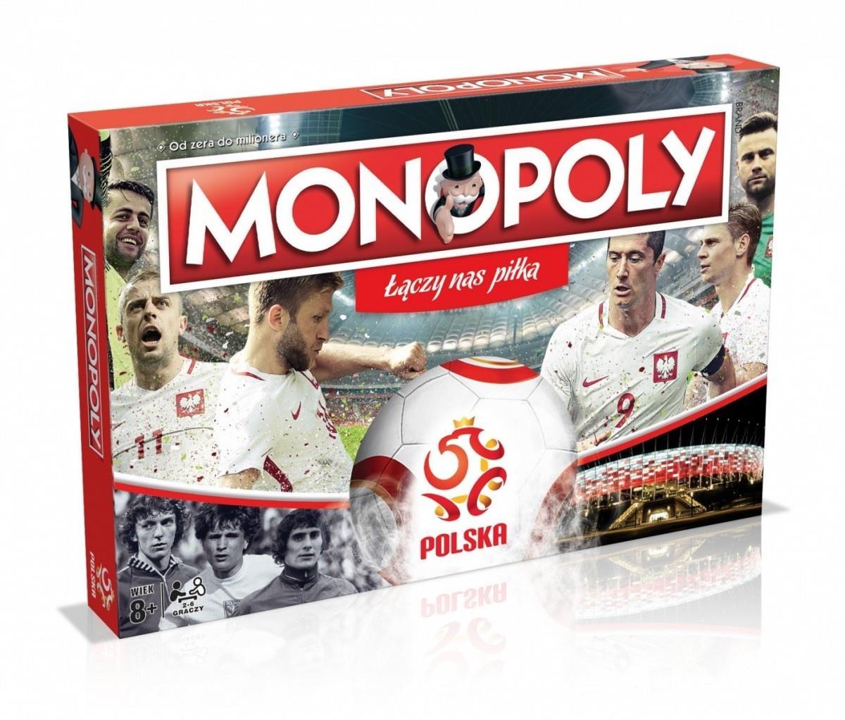 Monopoly: PZPN Polska Piłka Nożna (Gra Planszowa)