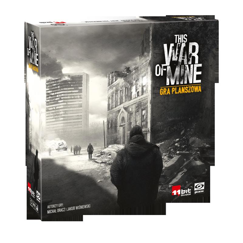 This War of Mine (polska edycja) (Gra Planszowa)