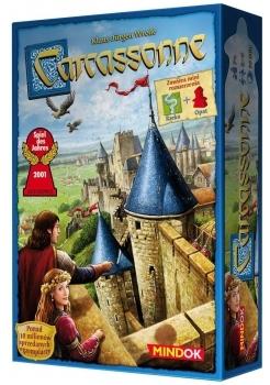 Carcassonne podstawa 2 edycja + Opat i Rzeka (Gra planszowa)