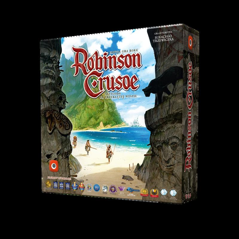 Robinson Crusoe: Przygoda na przeklętej wyspie - Edycja Gry Roku (Gra planszowa)