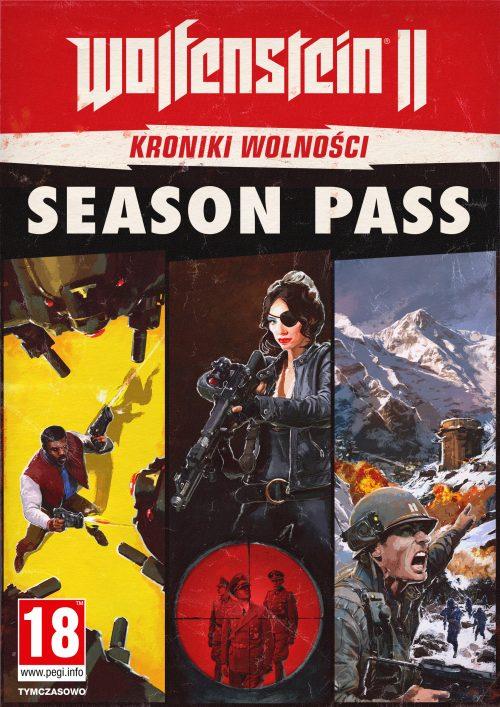 Wolfenstein II: The New Colossus - Kroniki Wolności Season Pass (PC) PL klucz Steam