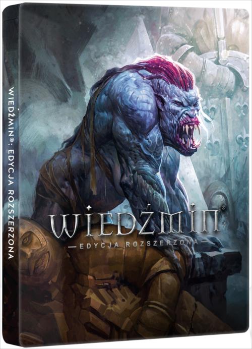Wiedźmin: Edycja Rozszerzona + Steelbook (PC) PL