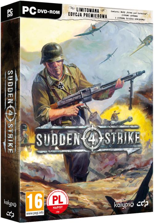Sudden Strike 4 Limitowana Edycja Premierowa (PC/MAC/LX) PL