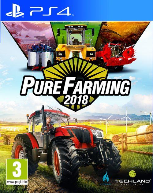 Pure Farming 2018 (PS4) PL