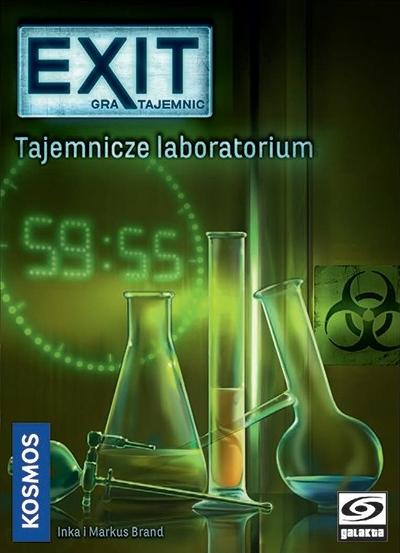 EXIT: Tajemnica Laboratorium (Gra planszowa)