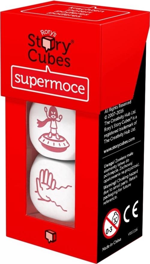Story Cubes: Supermoce (Gra planszowa)