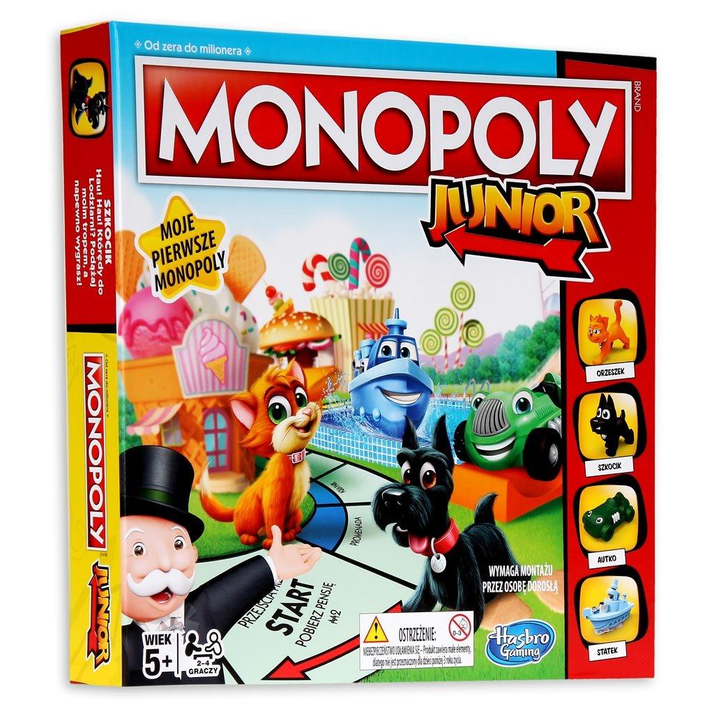 Hasbro Monopoly Junior (Gra Planszowa)
