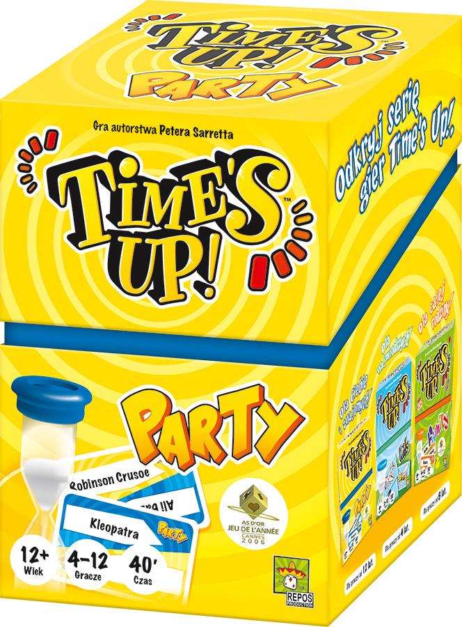 Time's Up! - Party (nowa edycja) (Gra karciana)