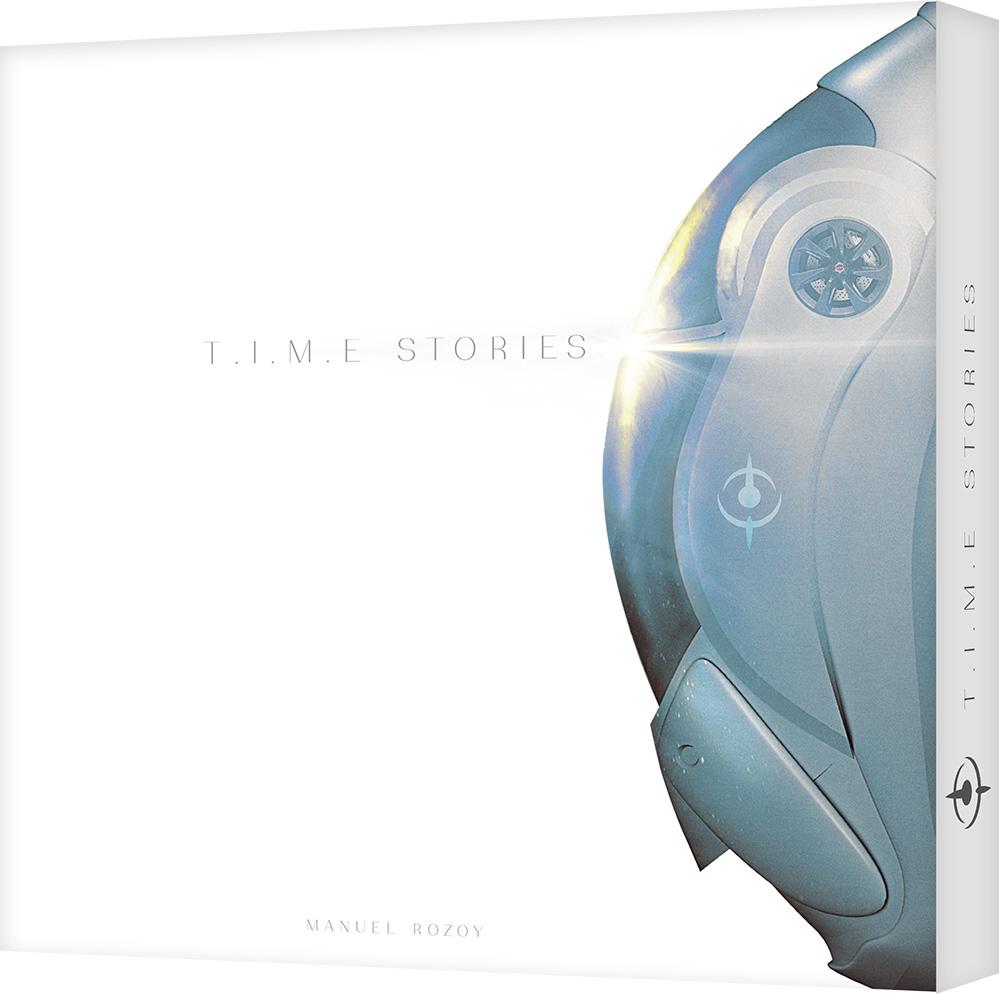 T.I.M.E Stories (Gra karciana) + dodatek Asylum