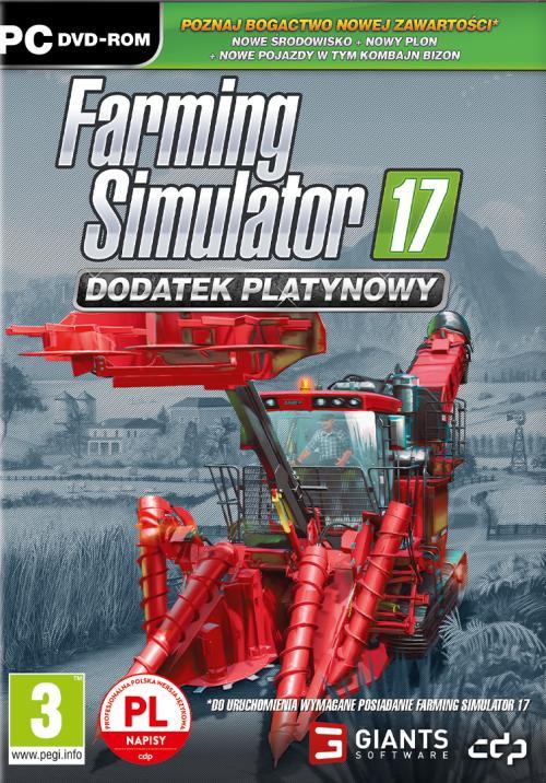 Farming Simulator 17 Dodatek Platinum Expansion (PC) PL