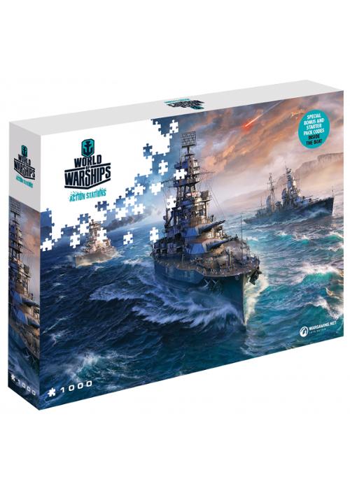 Puzzle World of Warships: Gotowi do walki (Puzzle) + ZAWARTOŚĆ DODATKOWA!