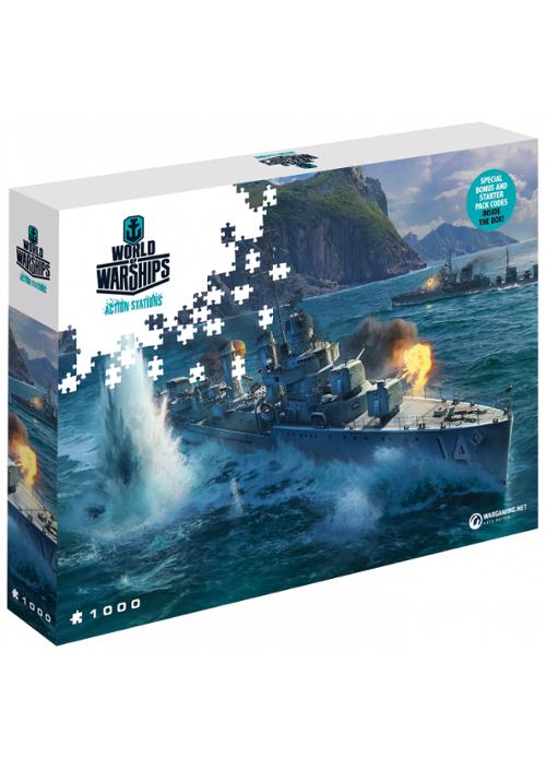 Puzzle World of Warships: Azjatyckie niszczyciele (Puzzle) + ZAWARTOŚĆ DODATKOWA!