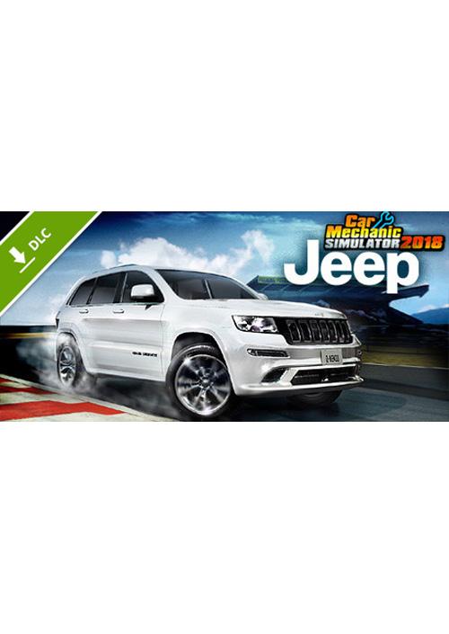 Car Mechanic Simulator 2018 - Jeep DLC (PC) PL klucz Steam