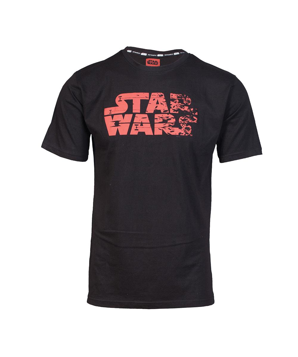 Star Wars Red Logo T-shirt - L + kubek Space Invaders