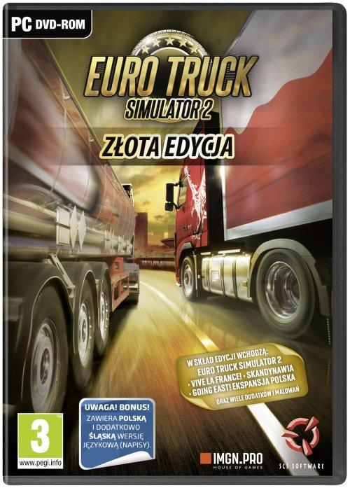 Euro Truck Simulator 2: Złota Edycja (PC) PL
