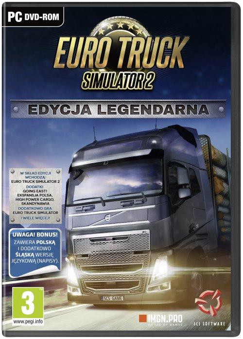 Euro Truck Simulator 2: Edycja Legendarna (PC) PL