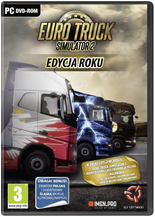 Euro Truck Simulator 2: Edycja Roku (PC) PL