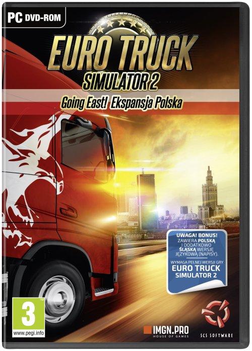 Euro Truck Simulator 2: Going East! Ekspansja Polska (PC) PL