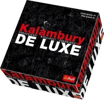 Kalambury De Luxe - gra towarzyska (Gra Karciana)