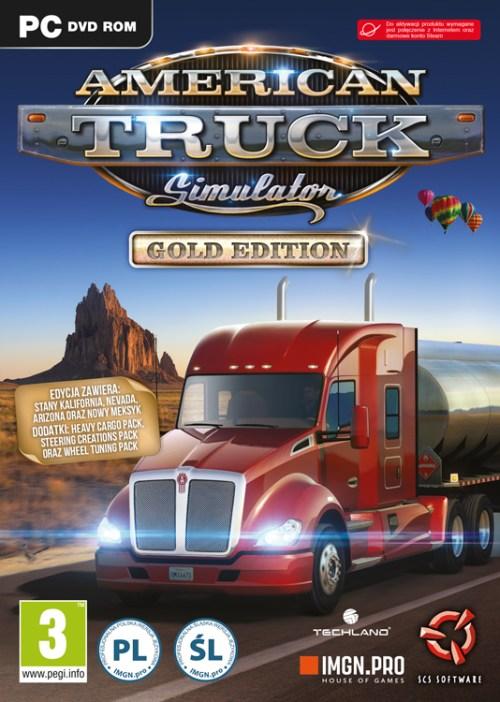 American Truck Simulator Gold (PC) DIGITÁLIS