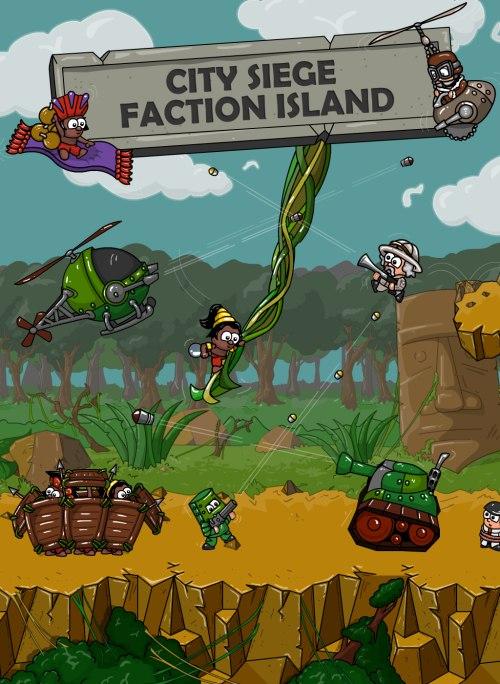 City Siege: Faction Island (PC) DIGITAL