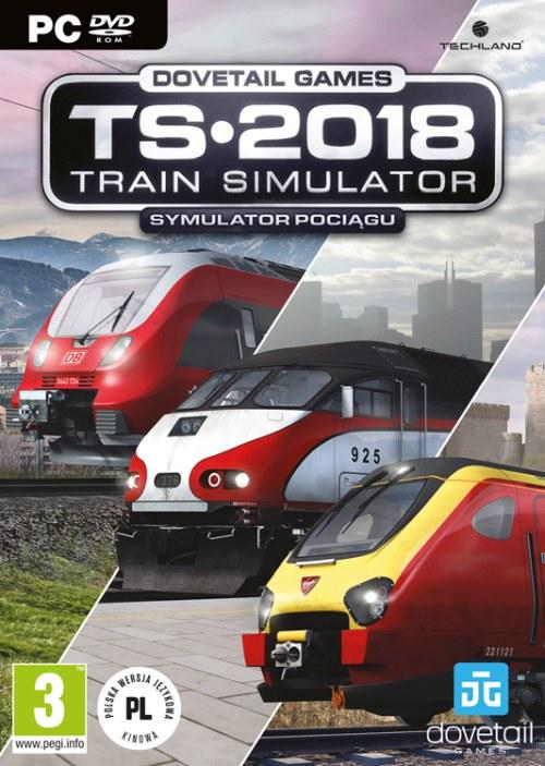 Train Simulator 2018 - Symulator Pociągu 2018 (PC) PL + BONUSY!