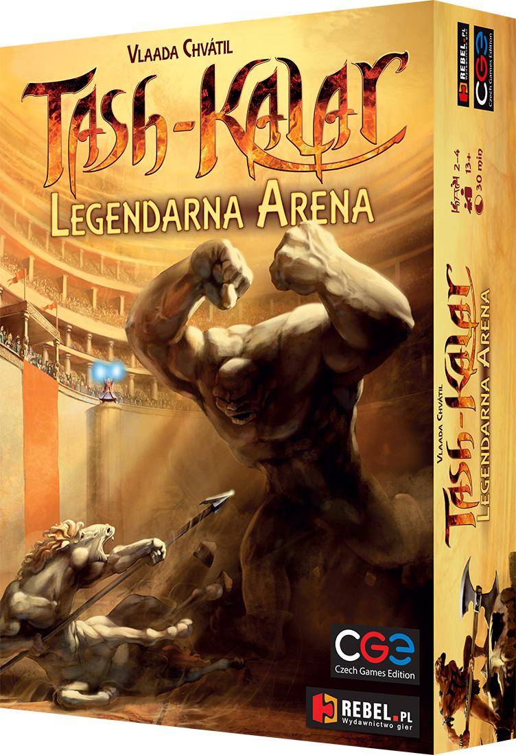 Tash-Kalar: Legendarna Arena (Gra Planszowa)