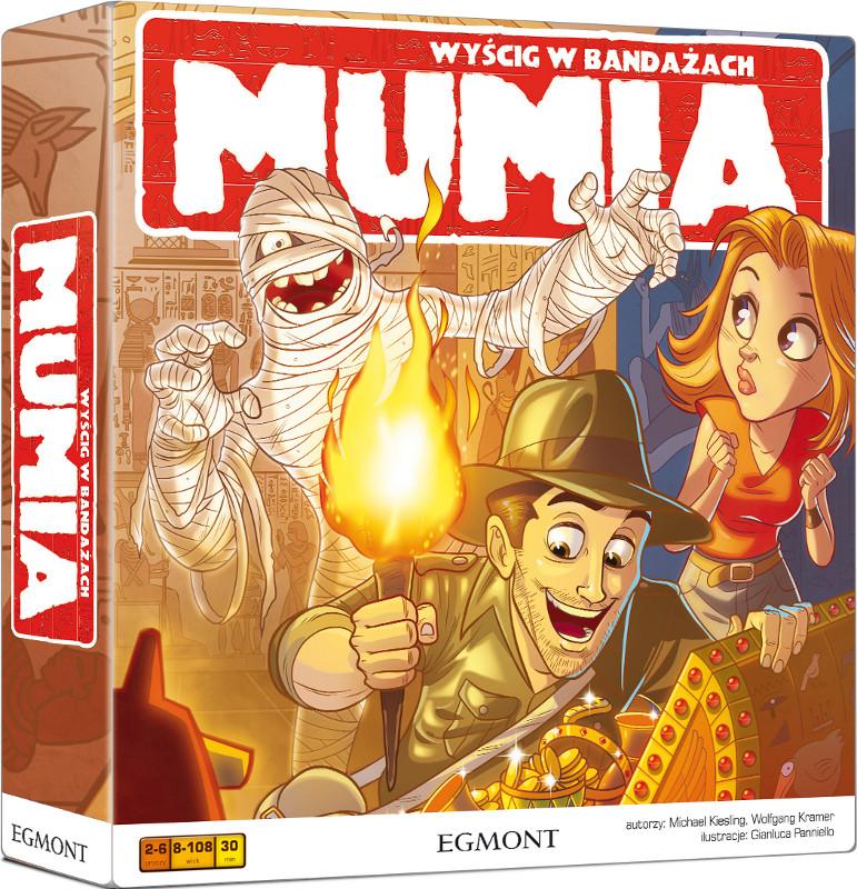 Mumia - Wyścig w bandażach (Gra Planszowa)