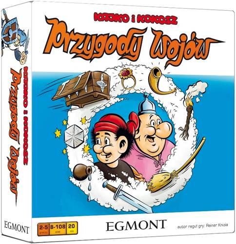 Kajko i Kokosz: Przygody Wojów (Gra Planszowa)