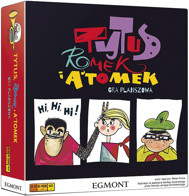 Tytus, Romek i A'Tomek (Gra Planszowa)