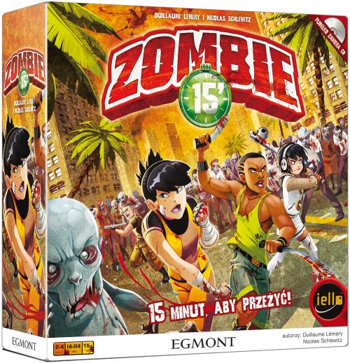Zombie 15' (edycja polska) (Gra Planszowa)