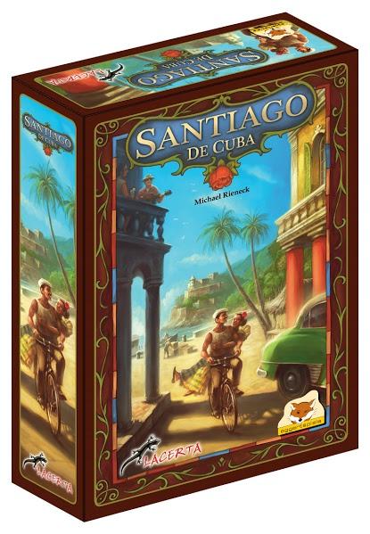 Santiago de Cuba (edycja polska) (Gra Planszowa)