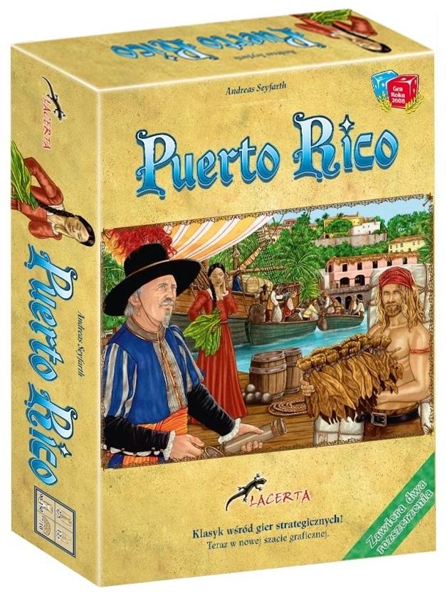 Puerto Rico (nowa edycja) (Gra Planszowa)