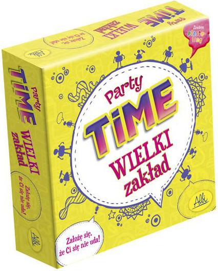 Party Time - Wielki Zakład (Gra Planszowa)