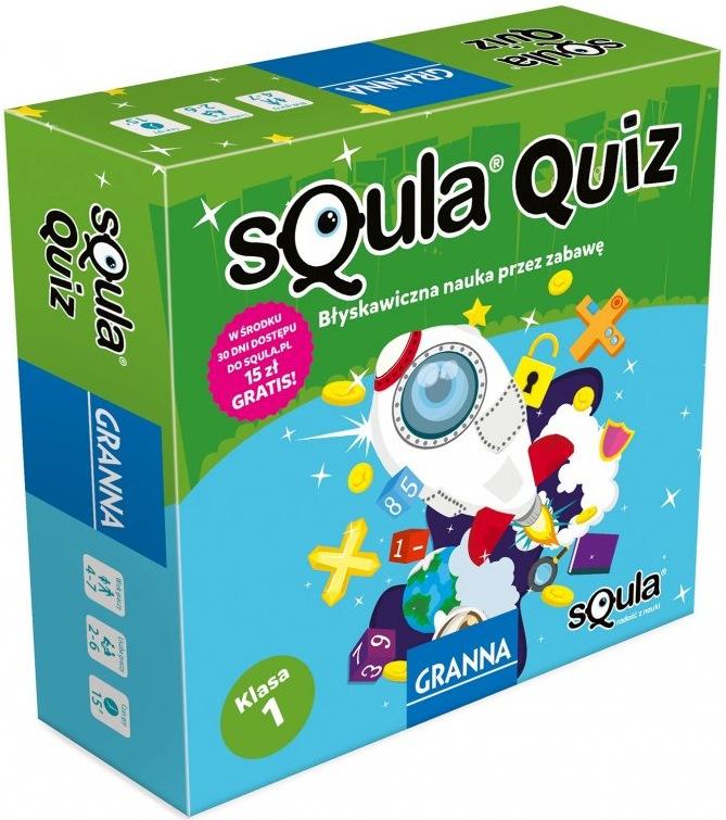 Squla Quiz: Klasa 1