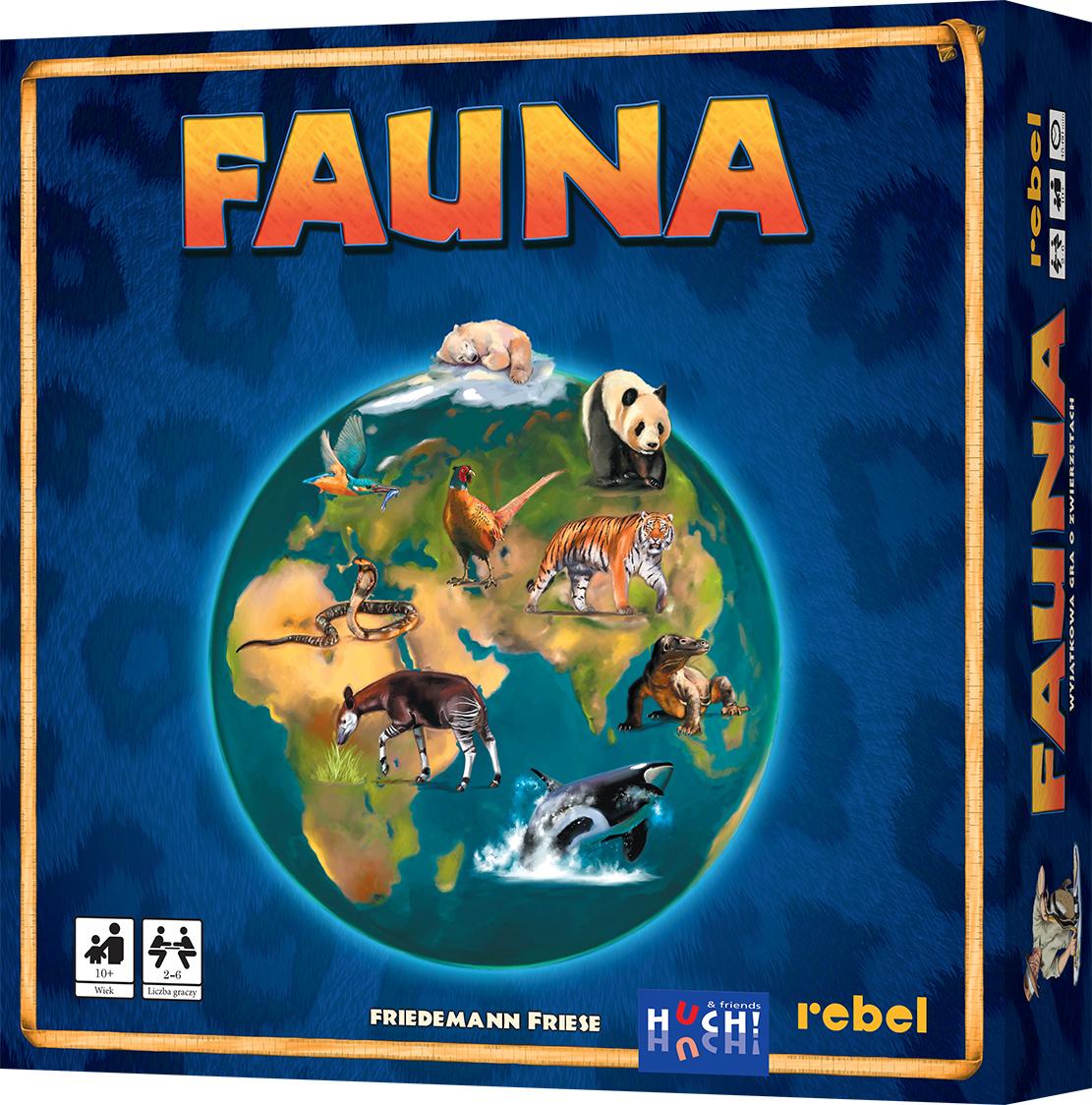 Fauna (druga edycja) (Gra Planszowa)