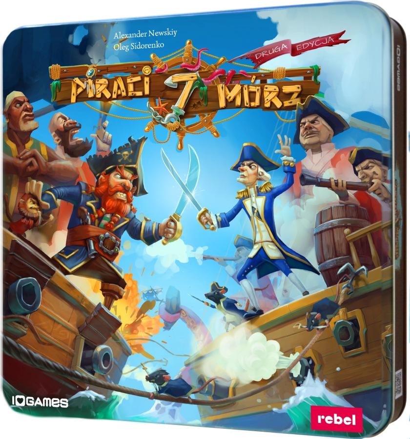 Piraci 7 Mórz (Gra Planszowa) + Bonus