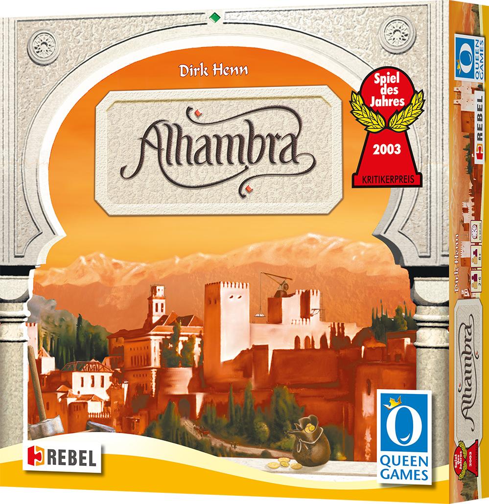 Alhambra (edycja  polska) (Gra Planszowa)