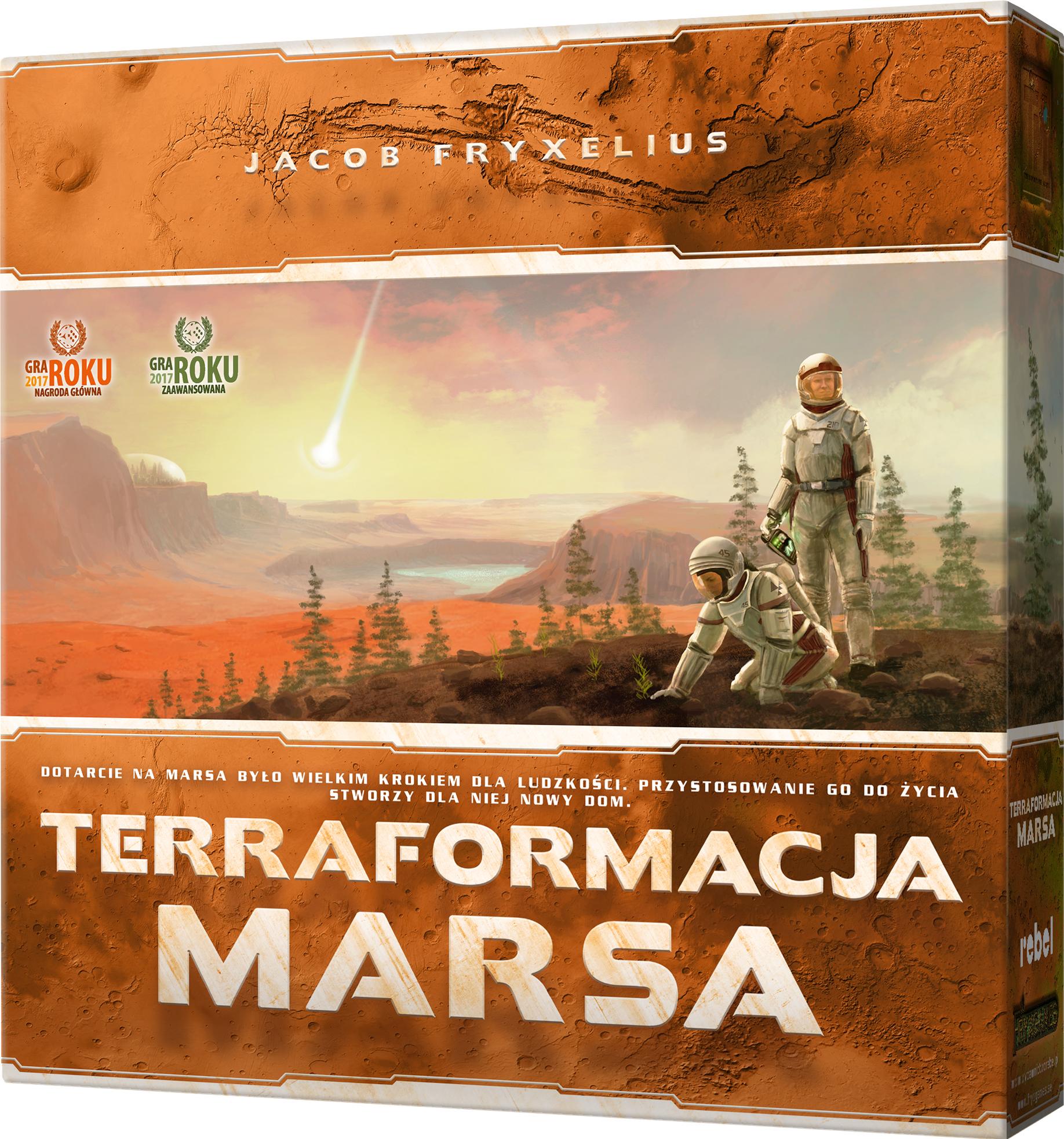 Terraformacja Marsa (edycja gra roku) (Gra Planszowa)