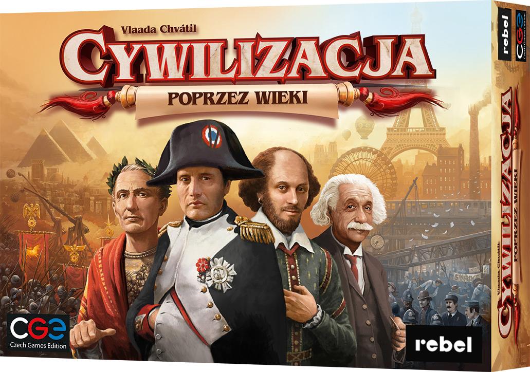 Cywilizacja: Poprzez wieki (3 edycja) (Gra Planszowa)