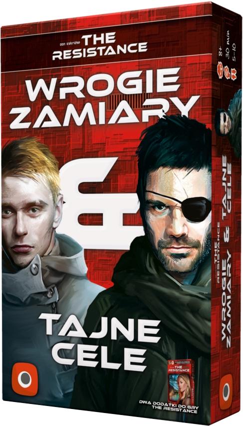 The Resistance: Wrogie Zamiary & Tajne Cele (Gry Karciane)